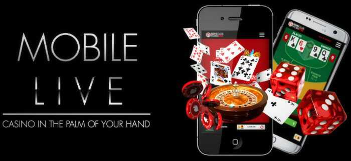 Live casino mobile for gambling anywhere and anytime